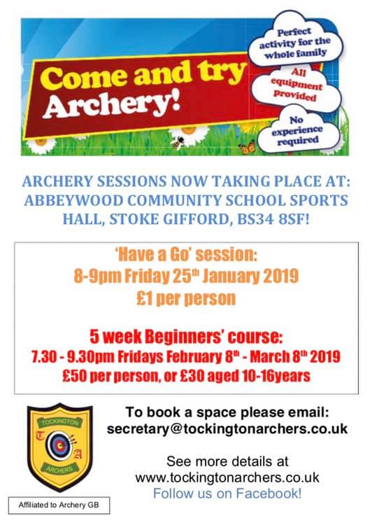 Come and try Archery